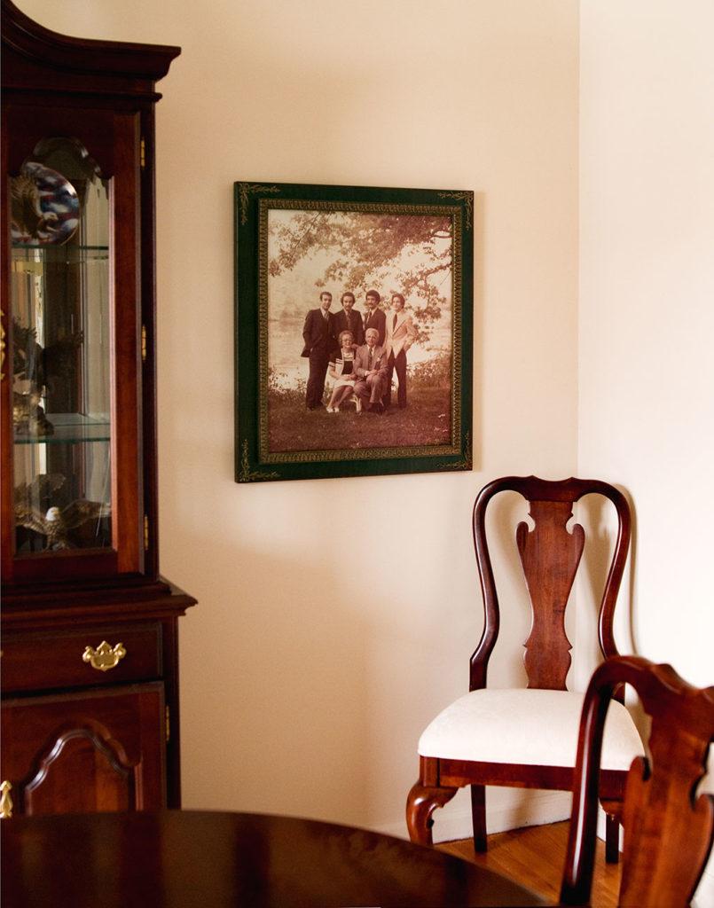 Scott Caster Family Portrait of his own family